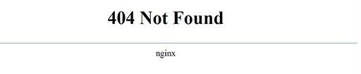 默认404模板